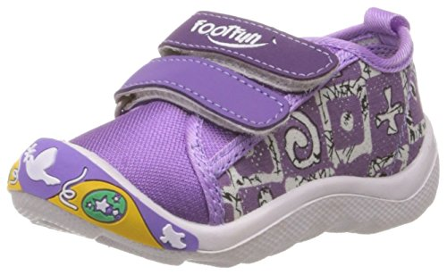 Foot Fun (from Liberty) Unisex Cozy-02 Violet Canvas Sneakers - 13 kids...