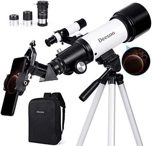 Amazon.com : Deesoo Telescopes for Adults Kids - Portable Travel