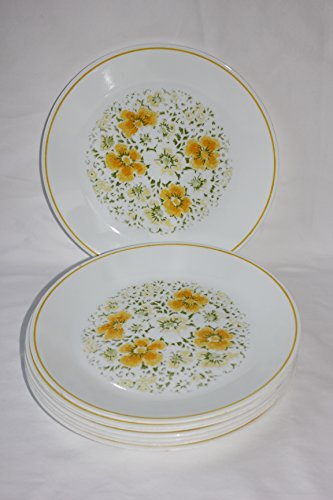 corelle yellow flowers - 2