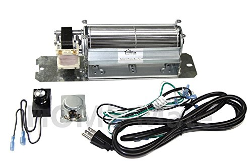 Hongso GZ550 Replacement Fireplace Blower Fan KIT for Continental, Napoleon, Rotom HB-RB58 by Hongso
