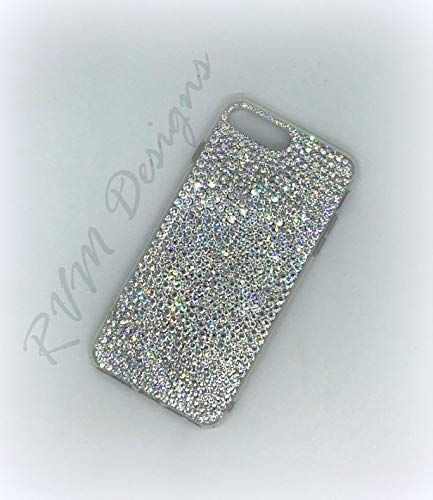 quality design a4c29 05baa Bling Multi Sized Clear Crystal 6 / 6s Plus, 7/7 Plus, 8/8 Plus, X, Xs, Xs  Max, XR phone case made with Swarovski Crystals