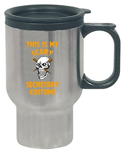 This Is My Scary Secretary Costume Halloween Gift - Travel Mug