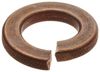 Silicon Bronze Helical Spring Split Lock Washer Ansi