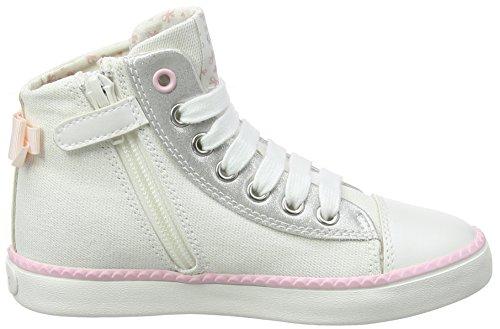 Hohe Geox Pink Weiß Sneaker White Lt Mädchen Girl B Jr Ciak SgXqvrg
