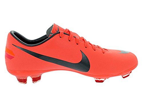 Nike Mercurial Vapor Iii Fg - Nike Kids's NIKE JR MERCURIAL VAPOR III FG SOCCER SHOES 1.5 (BRGHT MNG/MTLC DRK GRY/CHLLNG)
