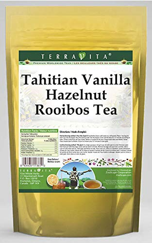 Tahitian Vanilla Hazelnut Rooibos Tea (25 Tea Bags, ZIN: 536284)