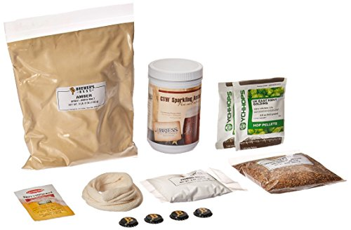 Brewer's Best American Amber Homebrew Beer Ingredient Kit