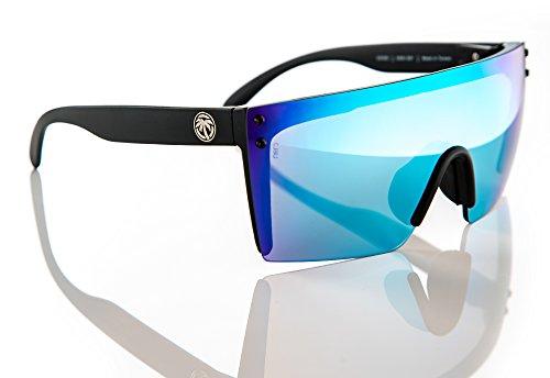 d755909d31 Heat Wave Visual Lazer Face Sunglasses in Savage Spectrum. Savage Spectrum- Savage Spectrum REVO. Galaxy Blue-Galaxy Blue REVO
