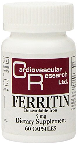 Cardiovascular Research Ferritin Tablets  60 Count
