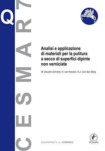 Analisi e applicazione di materiali per la pittura a secco di superfici dipinte non verniciate (Quaderni Cesmar7 Vol. 12)  por K.J. van den Berg,H. van Keulen,M. Daudin-Schotte