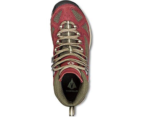Hiking Olive Knit Cap Bundle Women's Red GTX Vasque Breeze III amp; Brown Boots wIqOxS