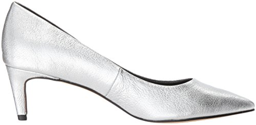 Dolce Vita Women's Salem Pump Silver Leather store sale online Fwu22xbty