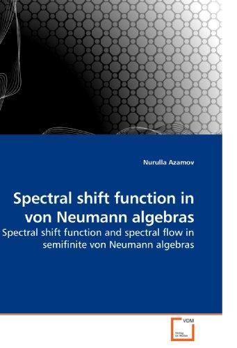 (Spectral shift function in von Neumann algebras: Spectral shift function and spectral flow in semifinite von Neumann algebras)