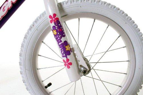 Dynacraft Magna Starburst Girls BMX Street/Dirt Bike 16'', Purple/White/Pink by Dynacraft (Image #2)