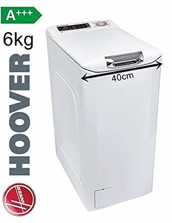 Hoover Lavadora carga superior 6 kg. 40 cm 1200 u/min a + + + ...
