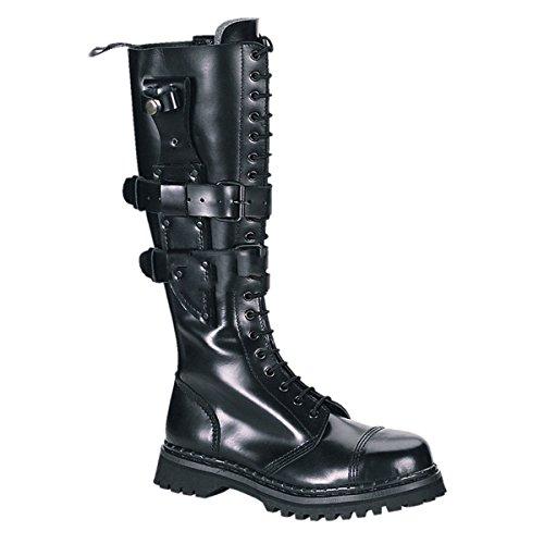 Demonia Predator-I - Gothic Punk Industrial Ranger Stiefel Boots Schuhe 36-46
