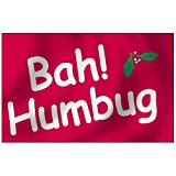 Bah Humbug Flag 3X5 Foot Nylon Outdoor For Sale
