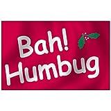 Bah Humbug Flag 3X5 Foot Nylon Outdoor