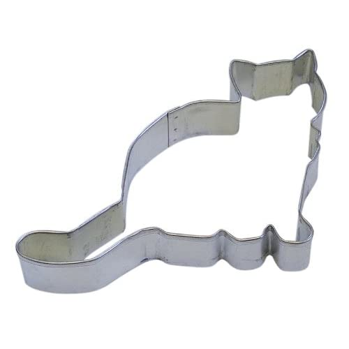 """R&M Kitten 4.5"""" Cookie Cutter in Durable, Economical, Tinplated Steel"""
