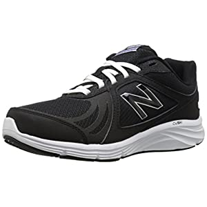 New Balance Women's WW496V3 Walking Shoe-W Cush + Walking Shoe, Black, 9 B US