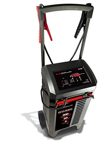 affordable Schumacher SC1400 6/12V Wheeled Fully Automatic Battery Charger and 200/300A Engine Starter