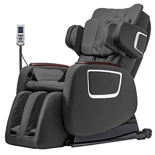 Full Body Zero Gravity Shiatsu Massage Chair Recliner w/Heat and Long Rail