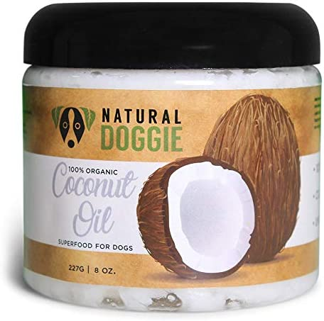 Natural Doggie Organic Coconut Supplement