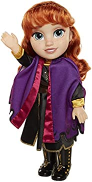 Disney Frozen 2 Anna Travel Doll - Features Violet Travel Cape Boots & Hairstyle - Ages 3+, 1