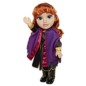 Disney Frozen 2 Anna Travel Doll – Features Violet Travel Cape Boots & Hairstyle – Ages 3+, 14 In