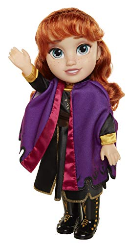 Disney Frozen 2 Anna Travel Doll  Features Violet Travel Cape Boots amp Hairstyle  Ages 3 14 In
