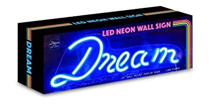 Bedroom Decorations Party Isaac Jacobs 13 inch LED Neon Pink and White Unicorn Wall Sign for Cool Light Home Accessories and Holiday Decor: Powered by USB Wire Wall Art