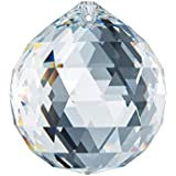 Swarovski Spectra Crystal 40mm Clear Lead Free Feng Shui Crystal Ball Prism, Very Crystal Made in Austria with Certificate