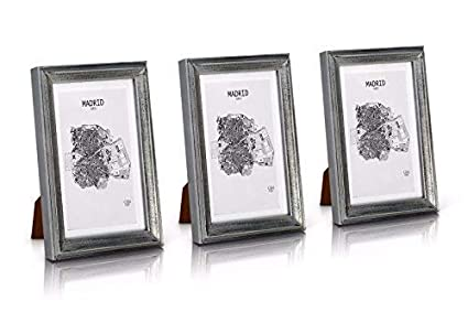 99fc51b51ca7 Antic by Casa Chic Solid Wood Shabby Chic Photo Frame 5x7 inch Frame Glass  Front With