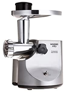 Waring Pro MG-800 Professional Meat Grinder, Brushed Stainless Steel