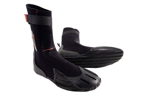 O'Neill Wetsuits Heat 3mm Round Toe Boot,Black, 6