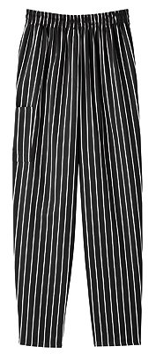 Price comparison product image Five Star 18100 Adult's Pull-On Baggy Pant Chalkstripe X-Large