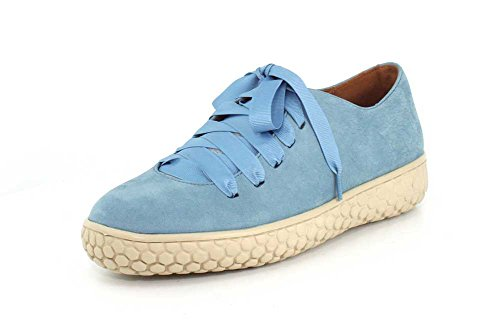 (L'Amour des Pieds Women's Zaheera Sneaker (9 M US, Indigo Nubuck) )