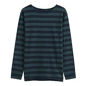 Umak Men's Spring Clothing Series Stripe T-shirt XXX-Large Blue