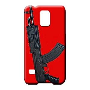 samsung galaxy s5 Dirtshock Covers skin cell phone carrying skins ak47 pistol