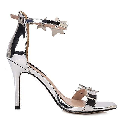 Frauen Sandalen Schuhe Sommer Frauen Plattform Sandalen Schuhe Ankle Strap Dame Sexy Europäischen Design High Heels Sandalen Schuhe Krokodil Muster Zip Elegantes Und Robustes Paket