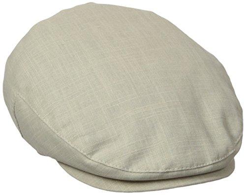 Stetson Men's Cotton IVY Cap, Khaki, (Cotton Ivy Hat)