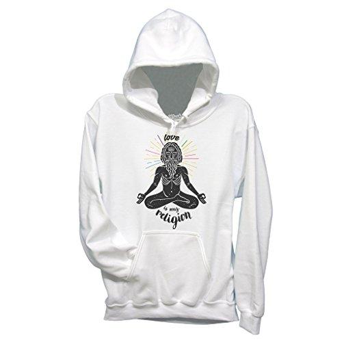 Sweatshirt Love Is My Religion - MUSH by Mush Dress Your Style
