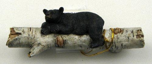 Set of 3 Adorable Bear on a Birch Log Drawer Handles by iwgac