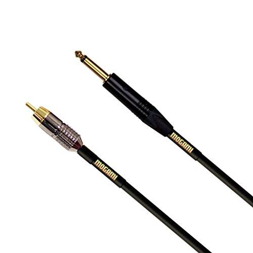 (Mogami GOLD TS-RCA-12 Unbalanced Audio Adapter Cable, 1/4