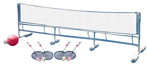 636643 Poolmaster Super Combo Water Volleyball/Badminton Game for Swimming Pools ()