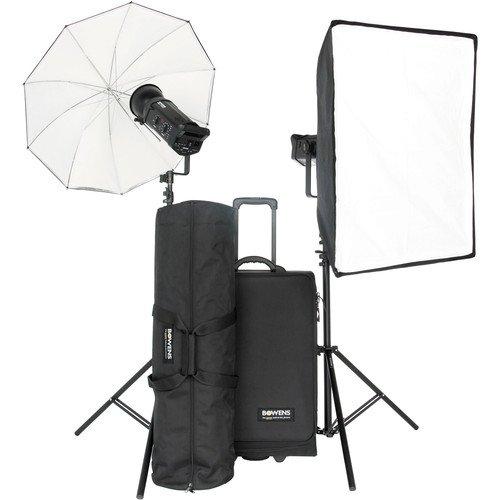 Bowens BW-8610USP Gemini 500Pro (x2) Kit - PocketWizard and Pulsar Compatible (Black) (Kit Umbrella Gemini)