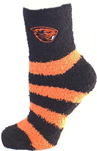 Official Nba White Tube Socks (Oregon State Beavers Striped Fuzzy Lounge Socks)