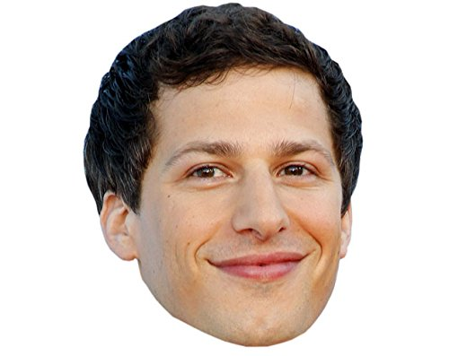 (Andy Samberg Celebrity Mask, Card Face and Fancy Dress Mask)