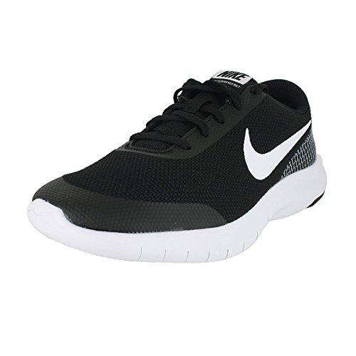 Nike Kids Flex Experience RN 7 (GS) Black White White Size 4 by Nike (Image #5)