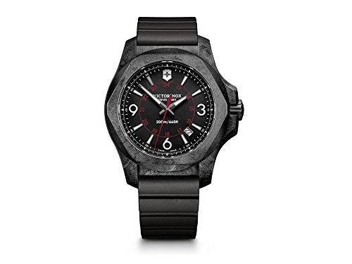 Victorinox-Swiss-Army-INOX-Carbon-Case-Black-Dial-Rubber-Strap-241777